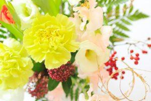お正月の花はいつから飾る?縁起がいい種類と意味、飾る場所を解説